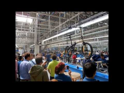 Folding Bikes by DAHON: European Production Facility