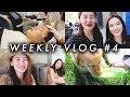 Weekly Vlog#4|又在喝大酒,第一次皮秒,过520,跟Aria玩耍,做指甲,约brunch,跟我一起收拾纽约行李