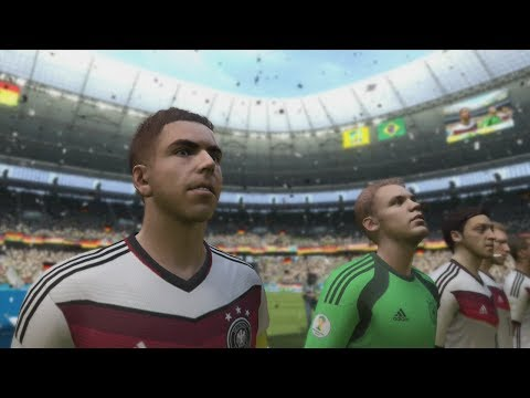 FIFA World Cup 2014: Germany vs Ghana Simulation (EA FIFA World Cup 2014 Brazil)