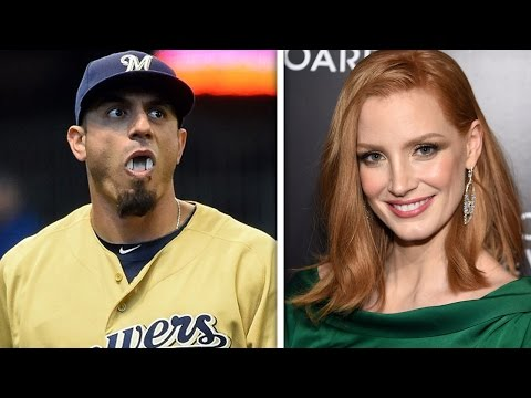 Baseball Player Lectures Jessica Chastain On Birth Control