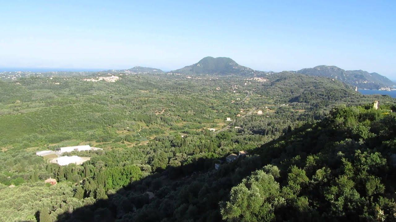 Kaisers Throne (Pelekas) - Corfu (Kerkyra) 2013 - YouTube