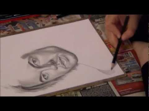 Speed drawing (time lapse) Craig Horner (Legend of the Seeker)