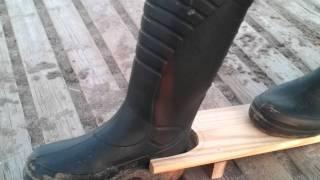Descalzador de botas de agua por Ppino