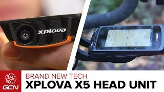First Look: XPlova X5 Cycling Computer