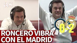 INTER 0 - REAL MADRID 2 |Roncero de suplicar a Hazard al