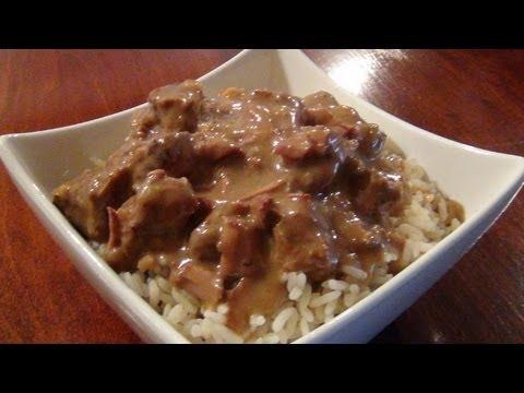 Beef And Mushroom Crock-Pot Dinner ( Recipe )
