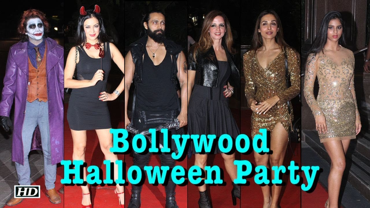 The Quirk Halloween Party 2020 When fashion met quirk at Gauri Khan Halloween Party   YouTube