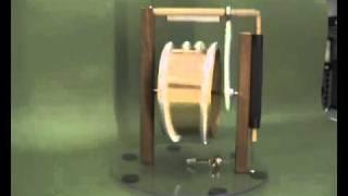 selfrunning working permanent magnet motor.flv