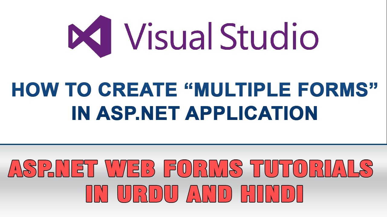 Asp. Net web forms tutorial in urdu how to set start page youtube.