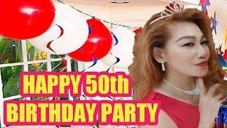 HAPPY 50th BIRTHDAY PARTY - ZIN ELLEN AERO