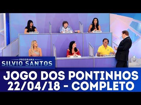 Jogo dos Pontinhos - Completo | Programa Silvio Santos (22/04/18)