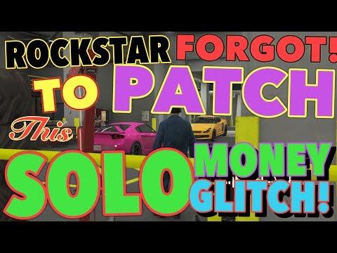 ROCKSTAR FORGOT TO PATCH THIS SOLO MONEY GLITCH! 1.47 (GTA 5 MONEY GLITCH)