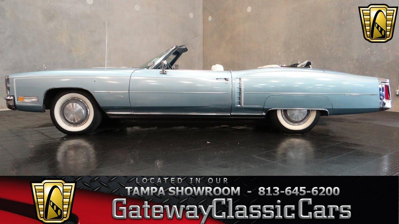 1971 Cadillac Eldorado Convertible - YouTube