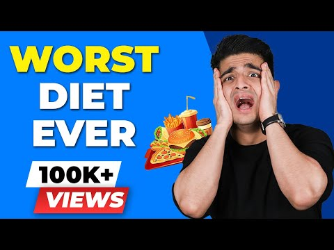 WORST DIET EVER - GM DIET | BeerBiceps Weight Loss