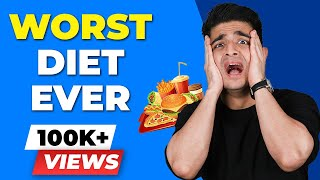 WORST DIET EVER - GM DIET | BeerBiceps Weight Loss