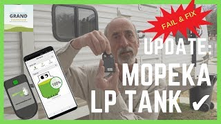 Ep. 94: Mopeka LP Tank Check Update - Fail & Fix | RV gear tips tricks how-to