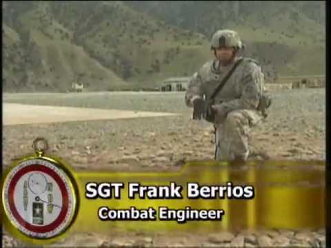Army Explosive Ordnance Disposal teams