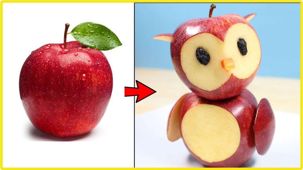 3 Simple Fruit Carving...