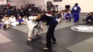 Rebecca Steele Blue Belt Promotion at Alvarez Brazilian Jiu Jitsu Arlington TX