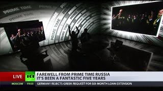 Prime Goodbye to viewers of Prime Time Russia!