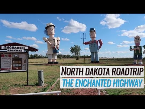 RV Road Trip to North Dakota's Enchanted Highway