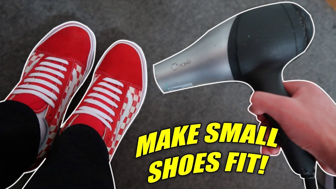 3 WAYS TO FIT INTO TOO SMALL SHOES