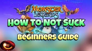 Monster Legends - Ultimate Beginners Guide
