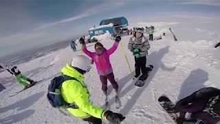 видео Горнолыжные курорты Мурманской области. Отдых зимой
