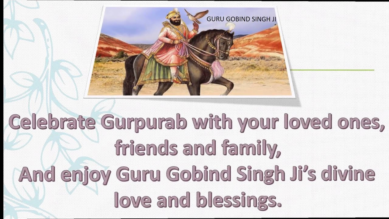 Happy Guru Gobind Singh Jayanti Wishes 2016 Happy Gurupurab 2016