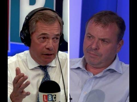 "Arron Banks Insists There's ""No Evidence"" Leave.EU Took Russian Money - LBC"