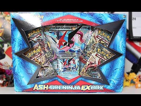 opening a pokemon ash greninja ex box youtube
