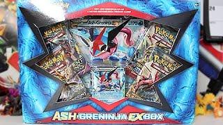 Opening A Pokemon Ash Greninja EX Box!!