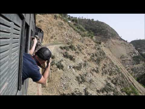 Riding the Asmara Railway Train in Eritrea