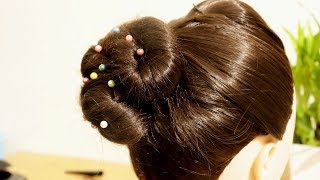 How to Make High Ponytail with Front Buff Hairstyles    New Juda Hairstyles    KGS Hairstyles
