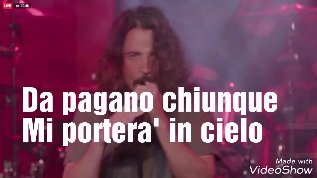 Traduzione Audioslave Like A Stone Youtube