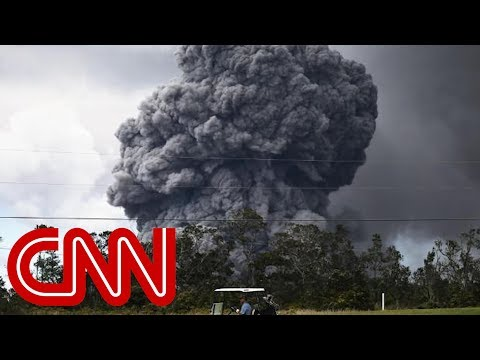 Summit of Hawaii's Kilauea volcano erupts