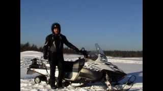 тест-драйв Polaris Widetrak IQ 600 (КОНКУРС 2013)