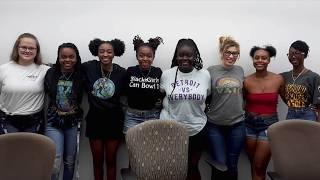 Norfolk State University Women's Bowling Team