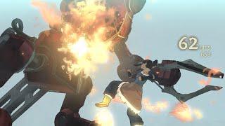 The Legend of Korra (PC) - How to Defeat Version 3 Mega Tank Robot Boss Battle