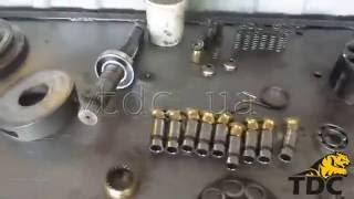 Gidravlik motor excavator yon ta'mirlash Volvo EC210B
