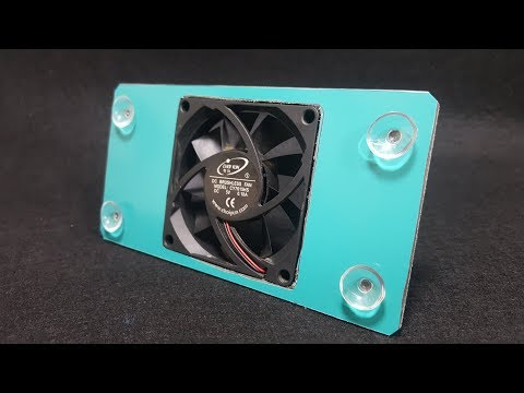 How To Make Phone Holder Radiator Cooling Very Simple