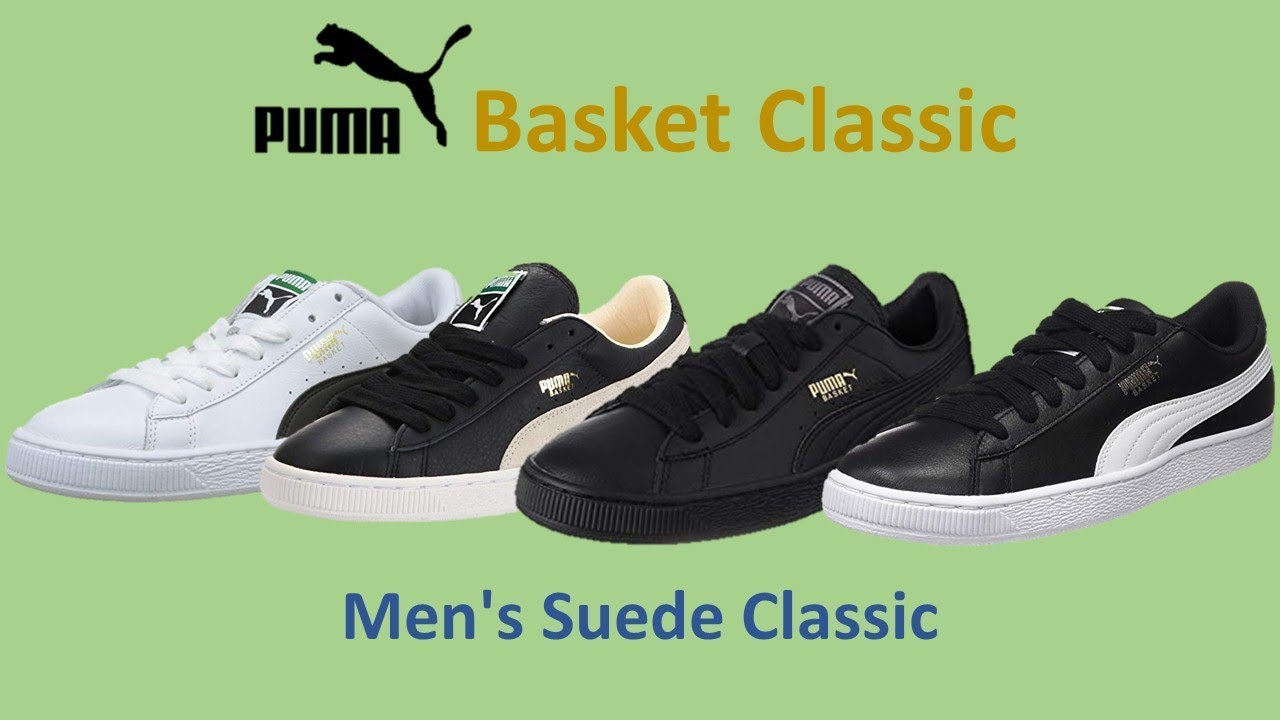Fashion Review Men's Classic Basket Puma Suede x0S6pI0qw