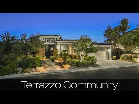 Touring A $1,295,000 Beautifully Upgraded Single Story In The Highly Desirable Terrazzo Community!