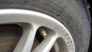 Автосоветы.Неисправность колес.Выявление причины спускания воздуха.Проверка колес.Давление в колесах