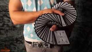 Карточный веер одной рукой - обучение