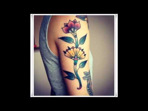Tatuajes Para Mujeres Flores Youtube