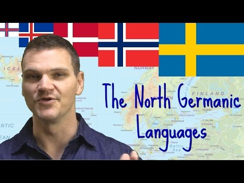 The North Germanic Languages of the Nordic Nations (UPDATED)