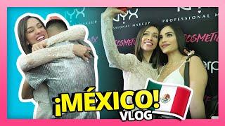 ABRAZOS, LABIAL EN LOS DIENTES, Y LOS NYX FACE AWARDS MEXICO | VLOG MEXICO 2018