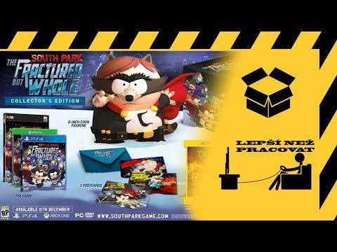 Český unboxing - South Park Fractured but Whole Collector's edition
