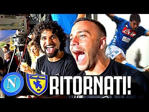 RITORNATI! NAPOLI 2-0 CHIEVO | LIVE REACTION TIFOSI NAPOLETANI HD